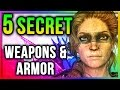 Skyrim 5 SECRET Unique Weapons & Armor Locations (Best Easy to get Special Edition #2)!
