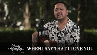 WHEN I SAY THAT I LOVE YOU -  FRANKY SIHOMBING