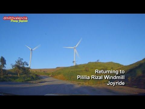 Pinoy Joyride - Pililia Rizal Wind Farm (Altenergy's Windfarm) 2nd Joyride
