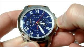 Fossil FS5210 Grant horloge