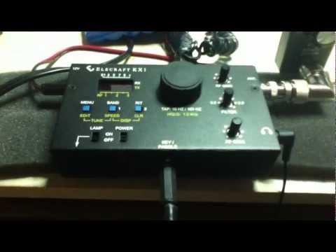 KX-1 and American Morse Key