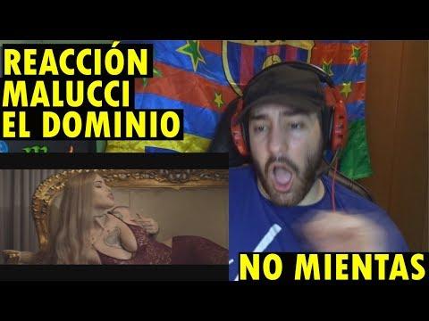 Malucci & Ele A El Dominio - No Mientas (Official Music Video) (REACCIÓN)