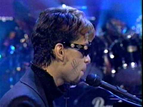 Prince Dinner with Delores on Late Show with David Letterman 1996