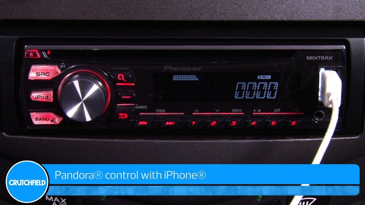 medium resolution of pioneer deh x2700ui car receiver demo crutchfield video