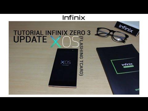 TUTORIAL] - Infinix Zero 3 Update XOS (Flashing TCard) - YouTube