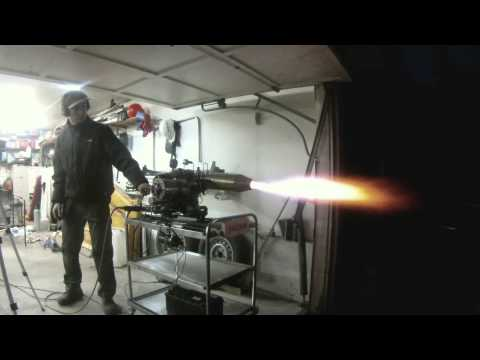 Turbojet engine thrust test