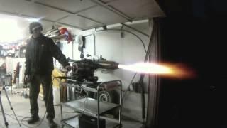 Turbojet engine thrust test