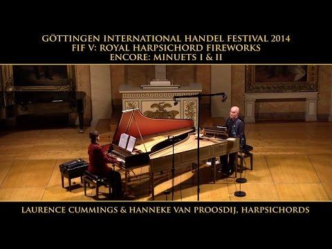 Handel: Music for the Royal Fireworks, Laurence Cummings and Hanneke van Proosdij, harpsichords
