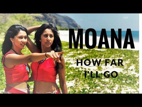How Far I'll Go | MOANA | Indian Dance Cover