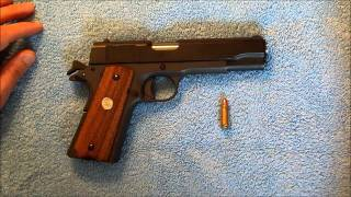 1911:  7.62x25 Range test and commentary