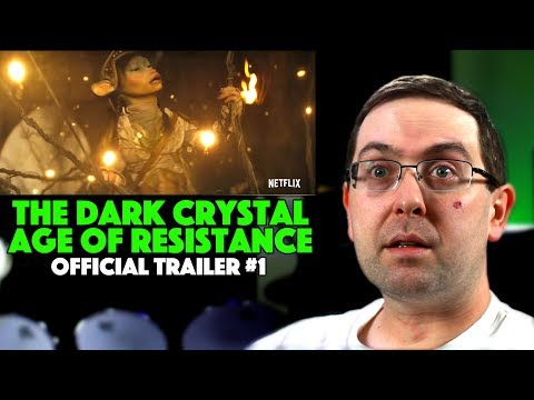 Play REACTION! The Dark Crystal: Age of Resistance Trailer #1 - Netflix Series 2019