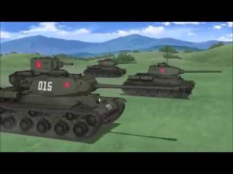 GIRLS und PANZER der FILM All Real Tanks