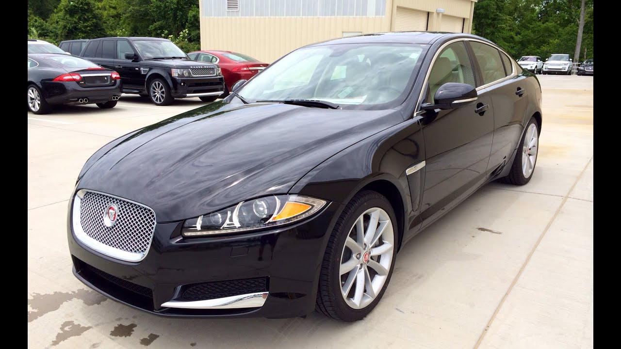 2014 Jaguar XF Supercharged 3.0 V6 AWD Exhaust, Start Up And In Depth  Review   YouTube