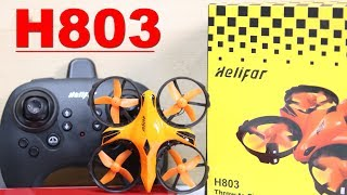 HELIFAR H803 with Obstacle Avoidance - Love This Drone!