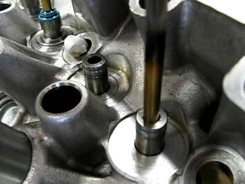 K Cylinder Head - Guides Wasted