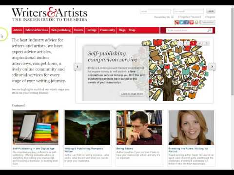 How To Become A Writer- The Writers' & Artists' Yearbook