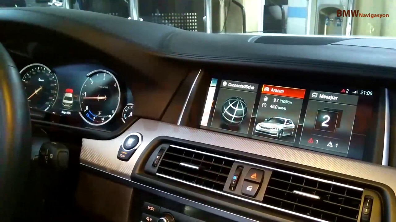 2016 Navigation Professional Nbt Evo Id6 Bmw F10 Youtube
