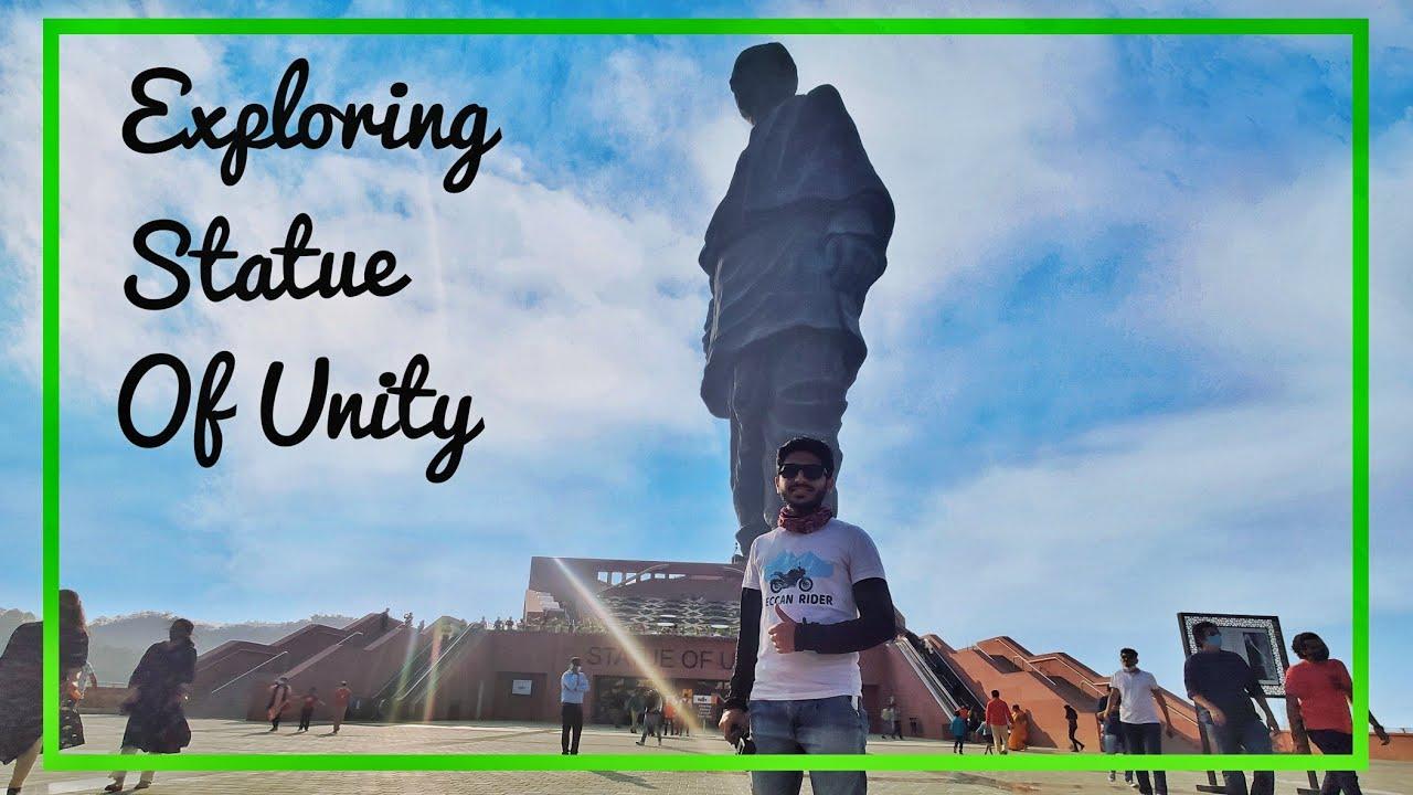 Exploring World's Tallest Statue Of Unity | स्टॅचू ऑफ युनिटी in marathi Episode 2😍