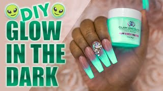 DIY Glow Nails - Glow in the Dark Nails