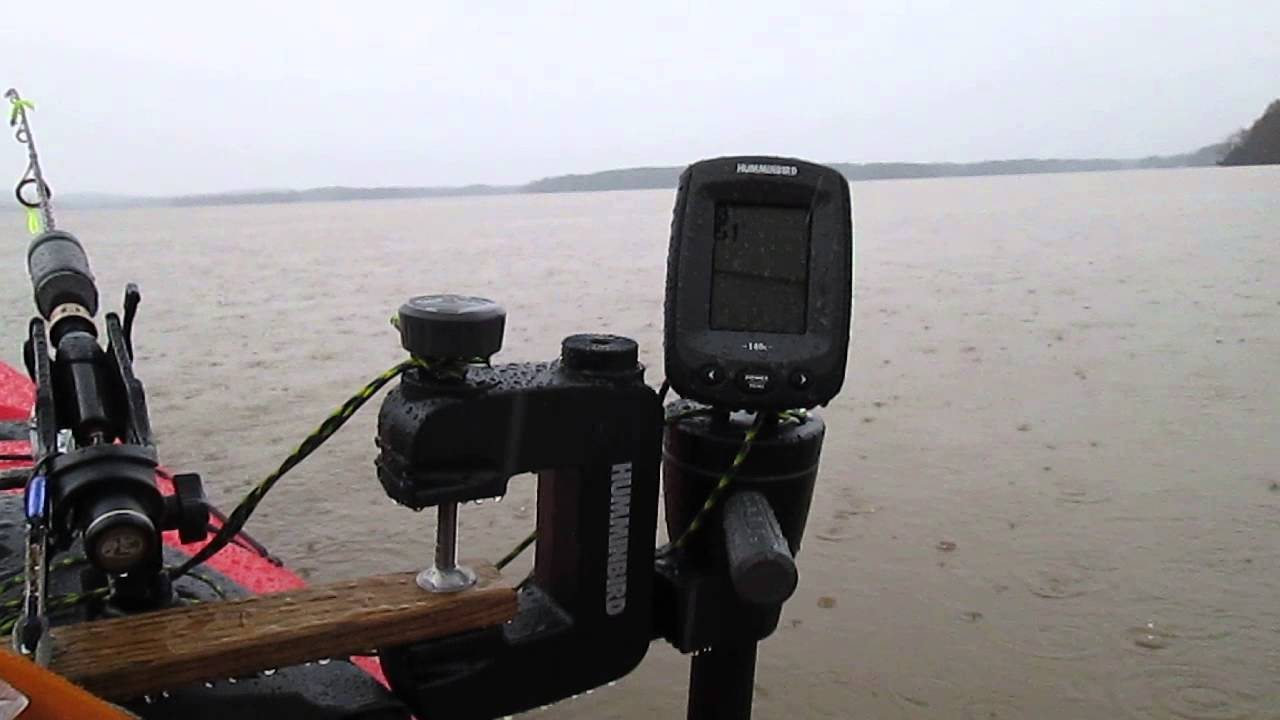 mvi 8658 3-16-2014 testing my new hummingbird buddy 140c - youtube, Fish Finder
