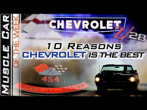 Chevrolet Things – Muscle Car Of The Week Video Episode 331