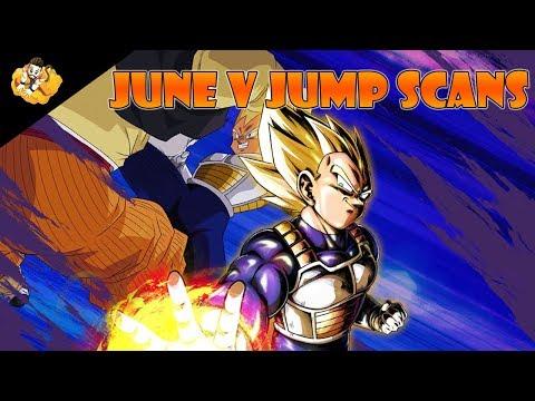 June V Jump Scans Dragon Ball Legends DB DBL DBZ