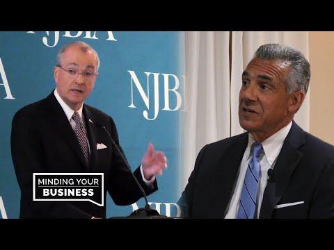 Murphy, Ciattarelli Talk NJ Business, Economy