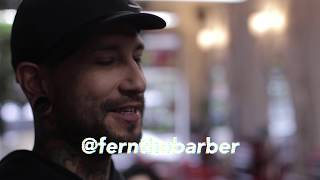 Fern the Barber at Magnolia Avenue Salon in Fort Worth, TX