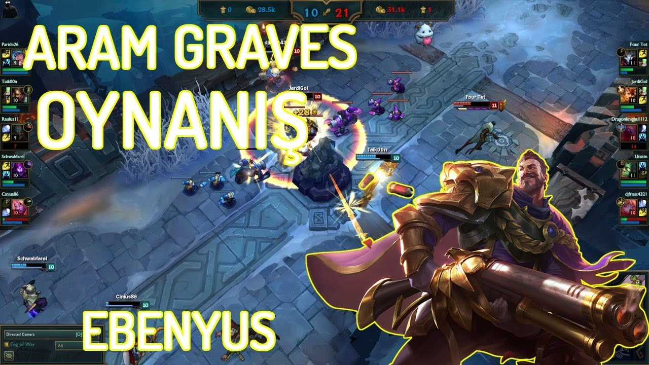 League Of Legends Aram Graves Youtube Graves çok metada gibi görünmese de, yeni rünlerle birlikte etkili bir anlık hasara sahip olacak. youtube