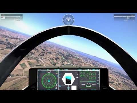ArmA 3: Flying with F-35 over Altis with 25km view distance!