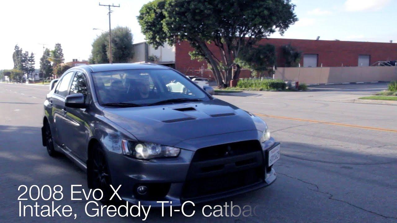 Evo X GSR Launch - YouTube