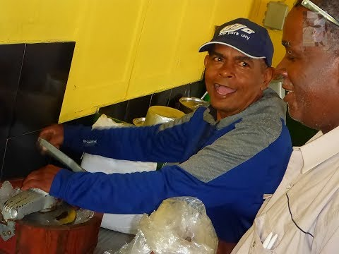 TOR TOR making Homemade ICE CREAM with Francis Morean - Arima Trinidad