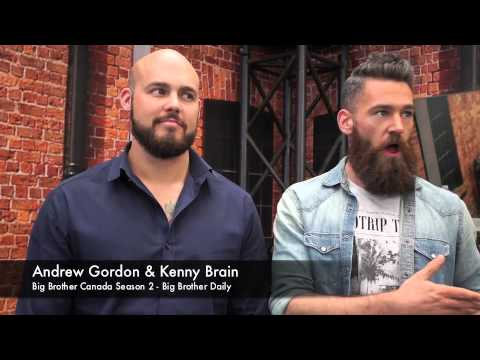 Kenny Brain & Andrew Gordon - Big Brother Canada 2 Finale Interview