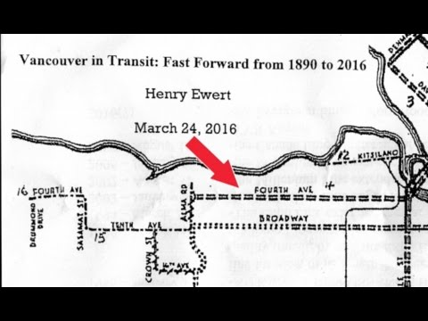 HENRY EWERT- Vancouver In Transit 1890 - 2016