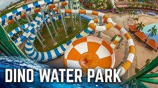Dino Water Park in Thailand (Water Slides POV)