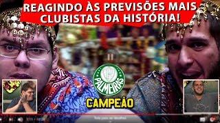 PALMEIRAS JÁ ERA CAMPEÃO BRASILEIRO E SÓ A GENTE SABIA - REACT PAI DE SOLA