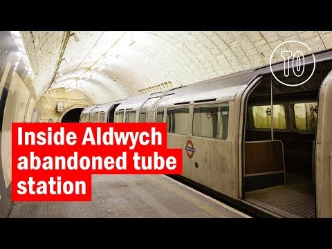 Inside abandoned Aldwych station | City Secrets | Time Out