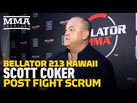 Bellator 213: Scott Coker Says UFC 233 Cancellation Was Because They 'Ran Out of Bullets'