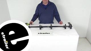 Review of Rackem Trailer Cargo Organizers - Hooks and Hangers,Tool Rack - RA-7 - etrailer.com