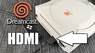 Dreamcast HDMI Cable Review - 100% Plug & Play - No mod needed!