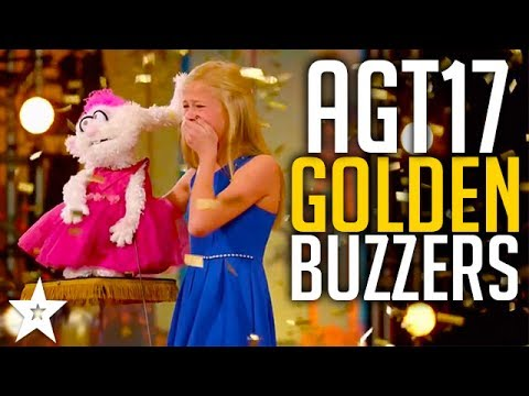 All GOLDEN BUZZERS On America's Got Talent 2017 | Including