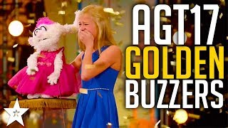 All GOLDEN BUZZERS On America\'s Got Talent 2017 | Including Darci Lynne, Mandy Harvey & More!