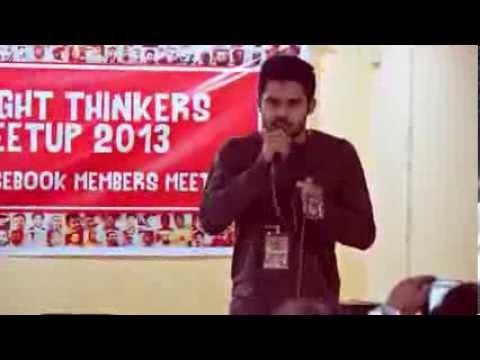 Malayalam HIP HOP by Haris Saleem @ RT MEETUP 2013