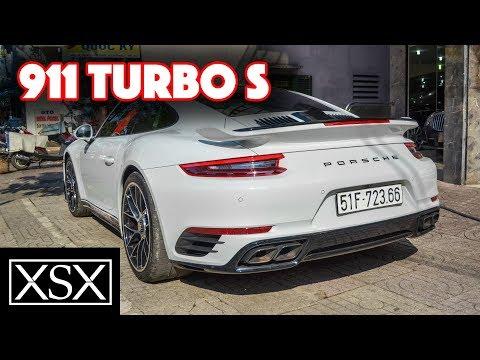 #Porsche #911 Turbo S Tái Xuất Trên Đường Phố Sài Gòn | XSX