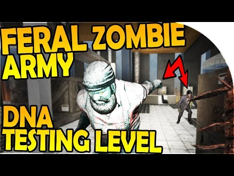 THE FERAL ZOMBIE ARMY - DNA TESTING LEVEL - 7 Days to Die Alpha 16 Gameplay Part 14 (Season 2)