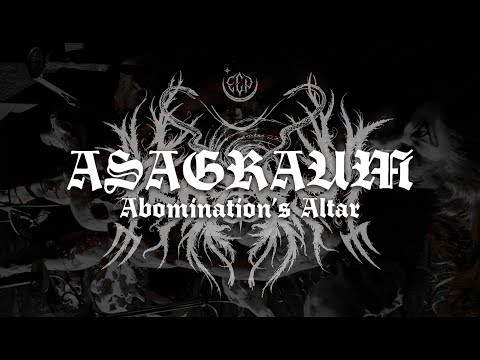 "Asagraum ""Abomination's Altar"" OFFICIAL MUSIC VIDEO"