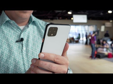 Google Pixel 4 XL Hands-on & First Impressions