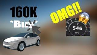ROBLOX | How fast is the Tesla Model X? (Vehicle Simulator [BETA])