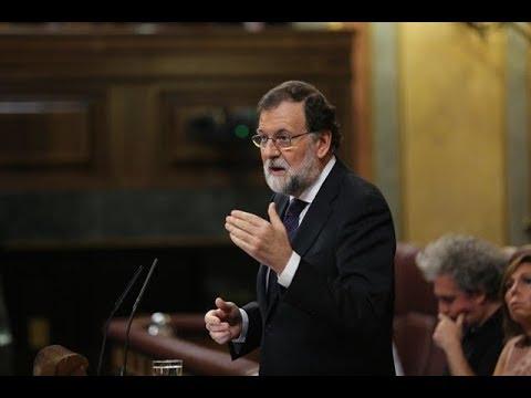 Rajoy comparece en el Pleno del Congreso para responder sobre Cataluña y artículo 155