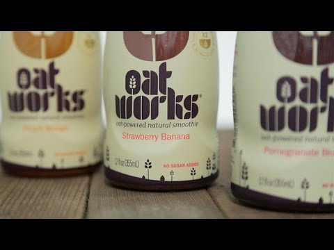 Sustain your energy with oat smoothies